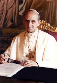 Pope Paul explained God's policy on birth control.  He did not invent it.