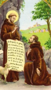 blessing of st francis