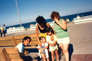 Jeannie, Amanda, Aunt Nette, & Grandma