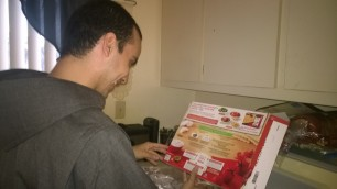 Figuring out how to cook a precooked lasagna