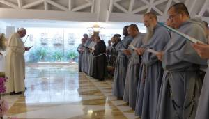 Pope Francis and Franciscans of the Immaculate